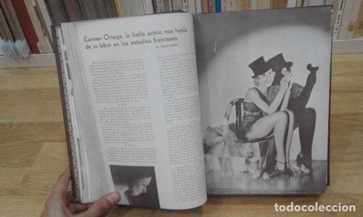 Cine: REVISTA CINEMA VARIEDADES (AÑOS 1933, 1934, 1935 Y 1936). DEL Nº 1 AL 24 (1 VOLUMEN) - Foto 9 - 87617440