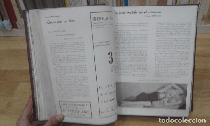 Cine: REVISTA CINEMA VARIEDADES (AÑOS 1933, 1934, 1935 Y 1936). DEL Nº 1 AL 24 (1 VOLUMEN) - Foto 10 - 87617440