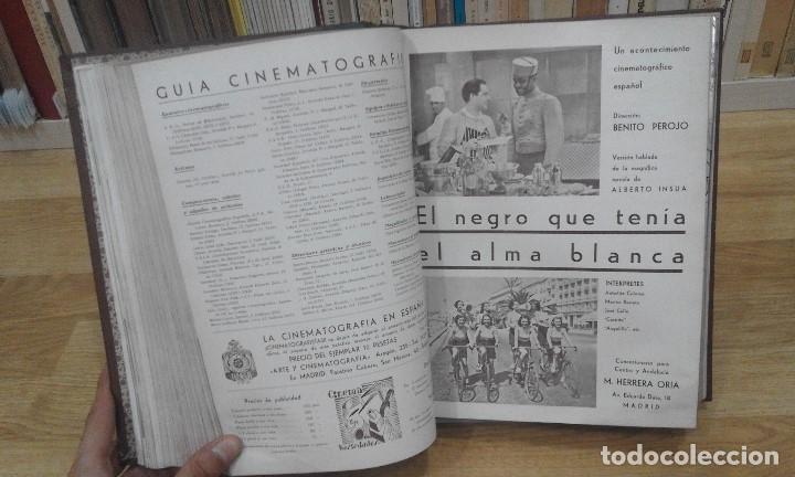 Cine: REVISTA CINEMA VARIEDADES (AÑOS 1933, 1934, 1935 Y 1936). DEL Nº 1 AL 24 (1 VOLUMEN) - Foto 11 - 87617440