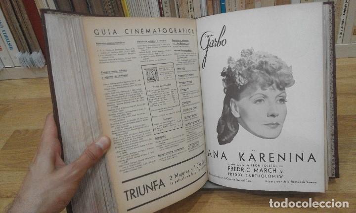 Cine: REVISTA CINEMA VARIEDADES (AÑOS 1933, 1934, 1935 Y 1936). DEL Nº 1 AL 24 (1 VOLUMEN) - Foto 13 - 87617440