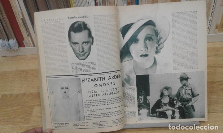 Cine: REVISTA PÁGINAS CINEMATOGRÁFICAS (AÑO 1933). 47 NÚMEROS (1 VOLUMEN) - Foto 2 - 87617676