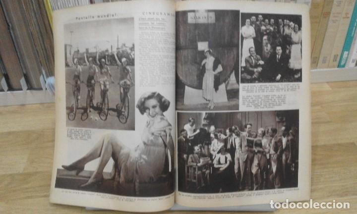 Cine: REVISTA PÁGINAS CINEMATOGRÁFICAS (AÑO 1933). 47 NÚMEROS (1 VOLUMEN) - Foto 7 - 87617676