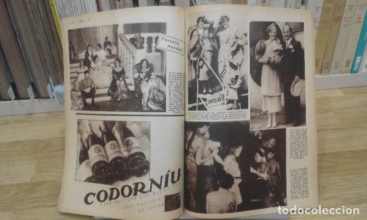 Cine: REVISTA PÁGINAS CINEMATOGRÁFICAS (AÑO 1933). 47 NÚMEROS (1 VOLUMEN) - Foto 8 - 87617676