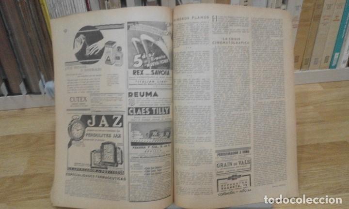 Cine: REVISTA PÁGINAS CINEMATOGRÁFICAS (AÑO 1933). 47 NÚMEROS (1 VOLUMEN) - Foto 9 - 87617676