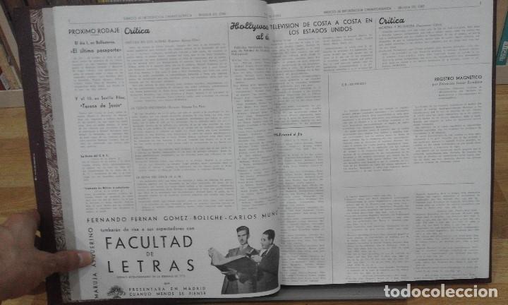 Cine: REVISTA BRÚJULA DEL CINE (AÑOS 1951 - 1952). 42 NÚMEROS (1 VOLUMEN) - Foto 3 - 87617836