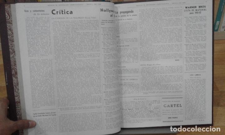 Cine: REVISTA BRÚJULA DEL CINE (AÑOS 1951 - 1952). 42 NÚMEROS (1 VOLUMEN) - Foto 5 - 87617836
