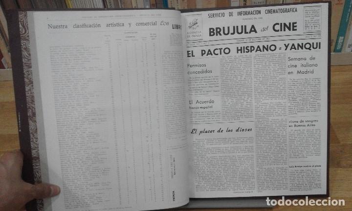 Cine: REVISTA BRÚJULA DEL CINE (AÑOS 1951 - 1952). 42 NÚMEROS (1 VOLUMEN) - Foto 6 - 87617836