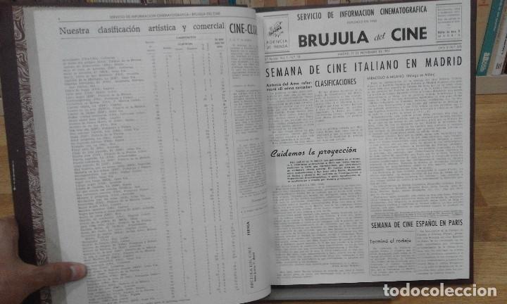 Cine: REVISTA BRÚJULA DEL CINE (AÑOS 1951 - 1952). 42 NÚMEROS (1 VOLUMEN) - Foto 7 - 87617836