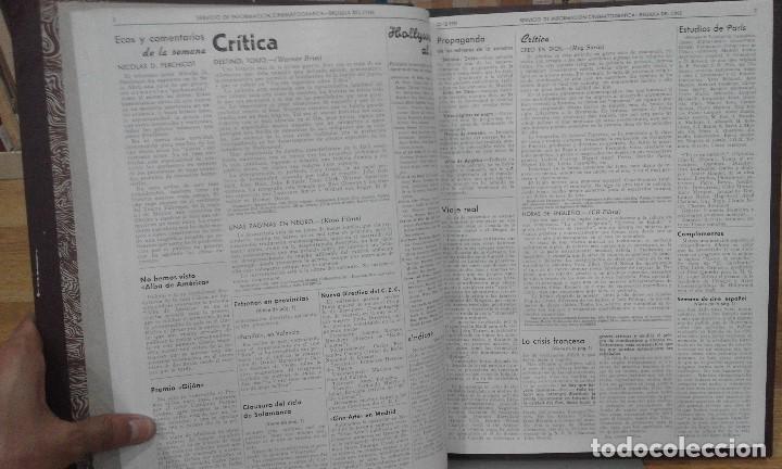 Cine: REVISTA BRÚJULA DEL CINE (AÑOS 1951 - 1952). 42 NÚMEROS (1 VOLUMEN) - Foto 8 - 87617836