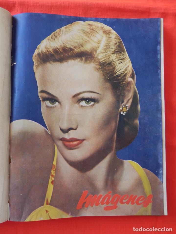 Cine: Libro 8 revistas Imagenes encuadernadas años 50 Ava Gardner Maria Felix Vivien Leigh Amparo Rivelles - Foto 4 - 87669696