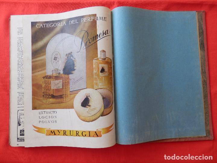 Cine: Libro 8 revistas Imagenes encuadernadas años 50 Ava Gardner Maria Felix Vivien Leigh Amparo Rivelles - Foto 10 - 87669696