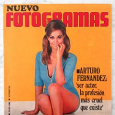 Cine: REVISTA FOTOGRAMAS - Nº 1081 - 1969 - CLAUDINE AUGER, SAN SEBASTIÁN, ANTONIO GADES, MAURICE GIBB. Lote 87932624