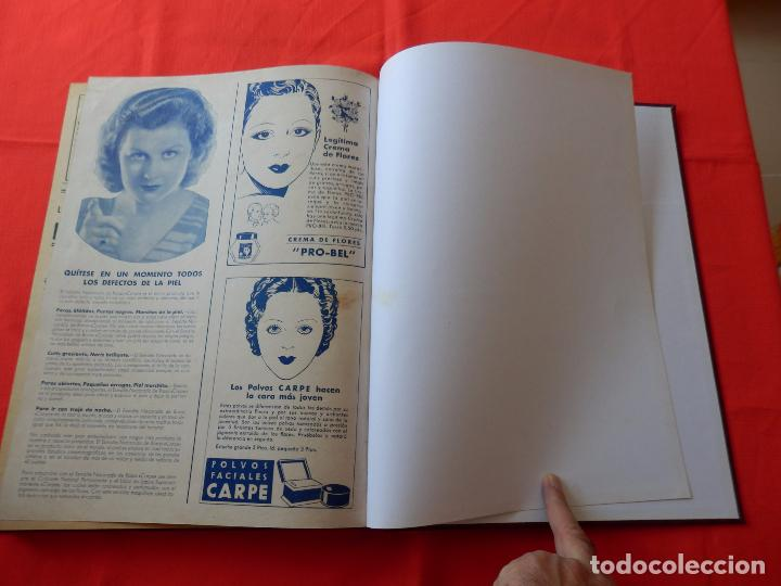 Cine: LIBRO 12 REVISTAS CINEGRAMAS ENCUADERNADAS AÑO 35 IMPECABLES - Foto 14 - 88162656