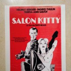 Cinema: REPRODUCCION -A4- SALON KITTY - HELMUT BERGER - CINE BELICO - INGRID THULIN. Lote 88237900