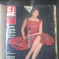 Cine: 51 REVISTAS CINE REVUE 1956 ENCUADERNADAS EN 2 TOMOS. Lote 89070788