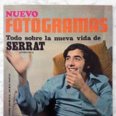 Cine: REVISTA FOTOGRAMAS - Nº 1059 - 1969 - JOAN MANUEL SERRAT, SUE GERRARD, ELSA BAEZA, LOS GRITOS. Lote 89296164