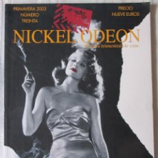 Cine: NICKEL ODEON 30. Lote 89370304