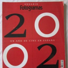 Cine: ANUARIO FOTOGRAMAS 2002. Lote 89374604