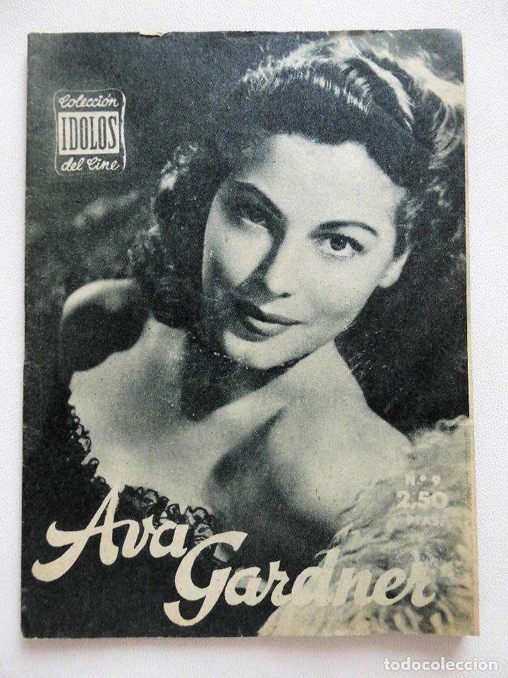 Cine: 10 ej. Colección Ídolos del cine: Ava Gardner, Brigitte Bardot, Grace Kelly, Gina Lollobrigida, etc. - Foto 2 - 89455348