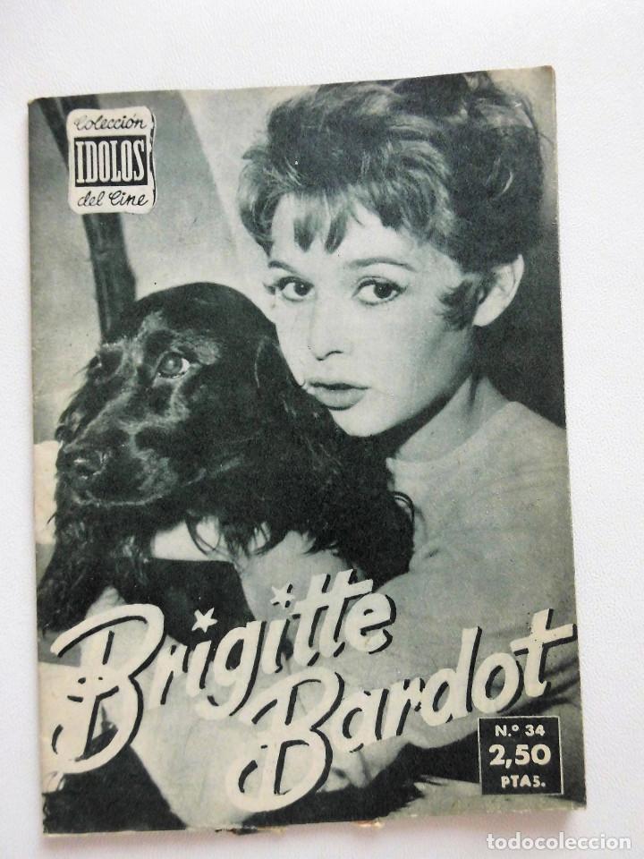 Cine: 10 ej. Colección Ídolos del cine: Ava Gardner, Brigitte Bardot, Grace Kelly, Gina Lollobrigida, etc. - Foto 3 - 89455348