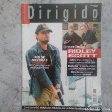 Cine: DIRIGIDO POR - Nº 383 - NOVIEMBRE 2008.. Lote 89659976