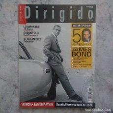 Cine: DIRIGIDO POR - Nº426.OCTUBRE 2012. 50 ANIVERSARIO JAMES BOND.. Lote 89672064