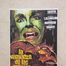 Cinéma: REPRODUCCION - 9*13- LA VENGANZA DE LAS MUJERES VAMPIRO - VAMPIROS - SANTO - TERROR. Lote 90228712