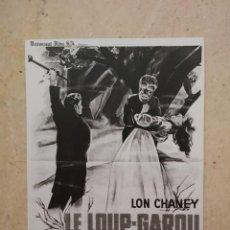 Cinema: REPRODUCCION - 9*13- EL HOMBRE LOBO - LON CHANEY - TERROR. Lote 90228912