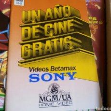 Cine: CATALOGO SONY BETAMAX 1986. BUEN ESTADO.. Lote 90452709