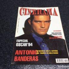 Cine: CINERAMA Nº 35 ESPECIAL OSCAR 1994, ANTONIO BANDERAS ,REVISTA DE CINE. Lote 276936278