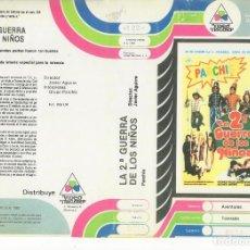 Cine: - REPRODUCCION CARATULA - ALTA RESOLUCION - LA 2 GUERRA DE LOS NIÑOS. Lote 90748755