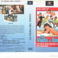 Cine: - REPRODUCCION CARATULA - LA VIUDA DEL TONTO. Lote 90749590