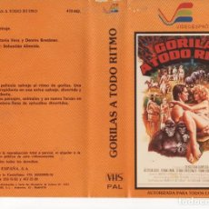 Cine: - REPRODUCCION CARATULA - ALTA RESOLUCION - GORILAS A TODO RITMO. Lote 90750375