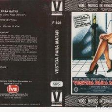 Cine: - REPRODUCCION CARATULA - VESTIDA PARA MATAR - ALTA RESOLUCION PAPEL FOTOGRAFICO. Lote 90750510