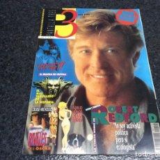 Cine: PANTALLA TRES 3 Nº 119 , ROBERT REDFORD , ENERO 1993 , CONTIENE LAS FICHAS DE CINE. Lote 106144836
