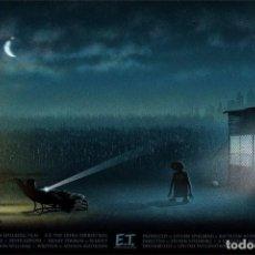Cine: E.T. EL EXTRATERRESTRE (LITOGRAFIA DE IMPRENTA). Lote 155436262