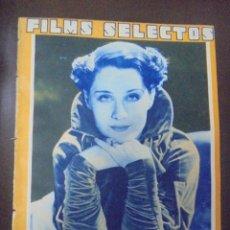 Cine: REVISTA CINE. FILMS SELECTOS. 25 AGOSTO 1934. AÑO V. Nº 202.. Lote 91344255