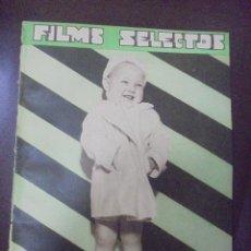 Cine: REVISTA CINE. FILMS SELECTOS. 18 AGOSTO 1934. AÑO V. Nº 201.. Lote 91344355