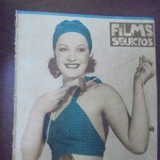 Cine: REVISTA CINE. FILMS SELECTOS. 7 JULIO 1934. AÑO V. Nº 195.. Lote 91344685