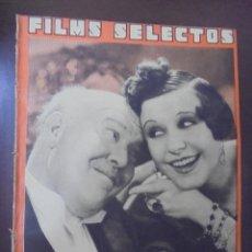 Cine: REVISTA CINE. FILMS SELECTOS. 30 JUNIO 1934. AÑO V. Nº 194.. Lote 91344855