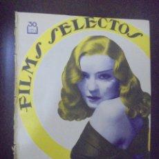 Cine: REVISTA CINE. FILMS SELECTOS. 23 JUNIO 1934. AÑO V. Nº 193.. Lote 91344920