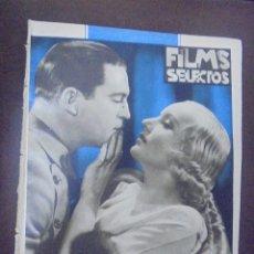 Cine: REVISTA CINE. FILMS SELECTOS. 16 JUNIO 1934. AÑO V. Nº 192.. Lote 91345005