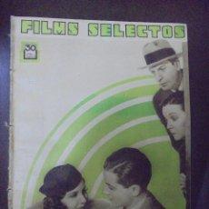 Cine: REVISTA CINE. FILMS SELECTOS. 9 JUNIO 1934. AÑO V. Nº 191.. Lote 91345090