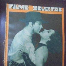 Cine: REVISTA CINE. FILMS SELECTOS. 2 JUNIO 1934. AÑO V. Nº 190.. Lote 91345145