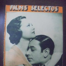 Cine: REVISTA CINE. FILMS SELECTOS. 12 MAYO 1934. AÑO V. Nº 187.. Lote 91345785