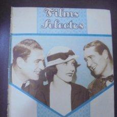 Cine: REVISTA CINE. FILMS SELECTOS. 21 ABRIL 1934. AÑO V. Nº 184.. Lote 91346120