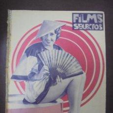 Cine: REVISTA CINE. FILMS SELECTOS. 31 MARZO 1934. AÑO V. Nº 181.. Lote 91346395