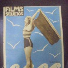 Cine: REVISTA CINE. FILMS SELECTOS. 23 JULIO 1932. AÑO III. Nº 93.. Lote 91346550