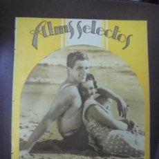 Cine: REVISTA CINE. FILMS SELECTOS. 2 JULIO 1932. AÑO III. Nº 90.. Lote 91346940