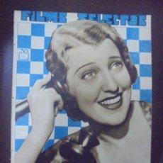 Cine: REVISTA CINE. FILMS SELECTOS. 25 JUNIO 1932. AÑO III. Nº 89.. Lote 91346985